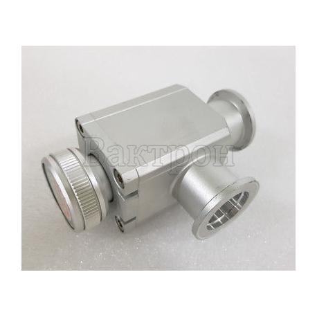 Клапан вакуумный KF-16 ручной алюминиевый