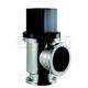 ULVAC VLP-SA - угловой клапан из нержавеющей стали с радиальным уплотнением штока и с пневматическим приводом двойного действия.