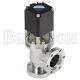 VLP-U — угловой клапан ULVAC из стали с радиальным уплотнением штока пневматический