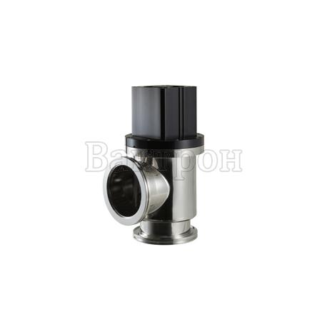 ULVAC VLP-SA — угловой клапан ULVAC из нерж.стали с радиальным уплотнением штока с пневматическим приводом прямого действия НЗ