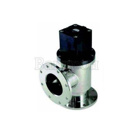 ULVAC VLP-SB — угловой клапан ULVAC из нерж.стали с сильфонным уплотнением штока с пневматическим приводом прямого действия НЗ