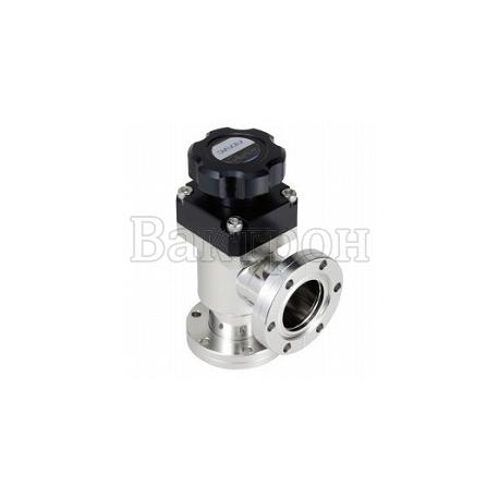 ULVAC VLH-SB — ручной угловой клапан ULVAC из нерж.стали с сильфонным уплотнением