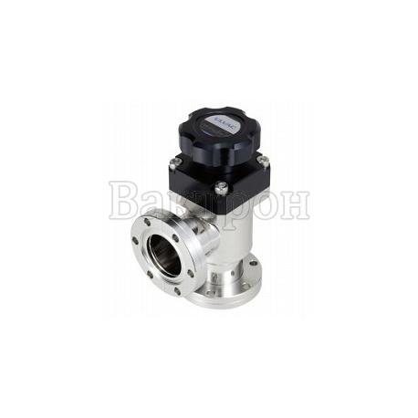 ULVAC VLH-MB — ручной высоковакуумный угловой клапан ULVAC из нерж.стали