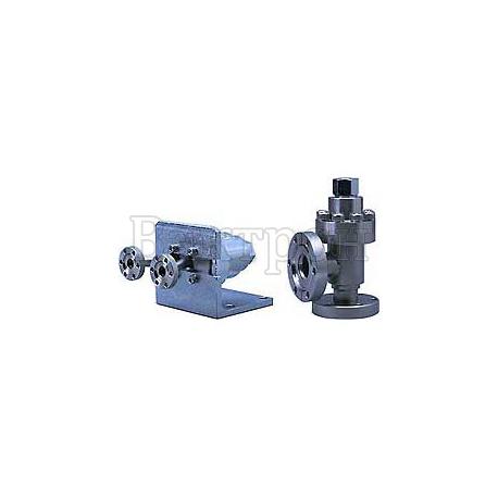 ULVAC VUH – угловой клапан с ручным приводом и металлическими уплотнениями