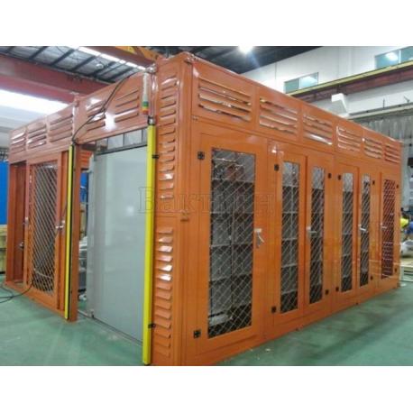 Установка контроля герметичности реле высокого напряжения – ULVAC High Voltage Switch