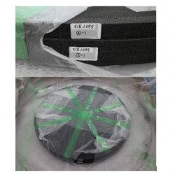 FHV-90 Uniform heating plate Graphite / Теплоизоляционная плита эквалайзер из графита для печи FHV-90