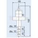 Ulvac Wi-Pa головка высоковакуумного датчика Пеннинга
